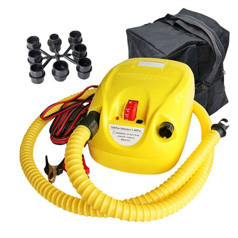inflatable boat electric air pump 12v high pressure air pump electric pumps for inflatable