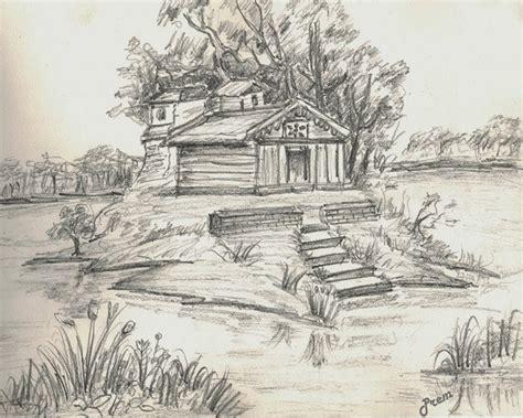 sketchbook landscape pics for gt simple pencil sketch of landscape