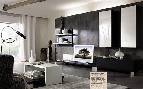 white living room decoration black and white designer room decosee