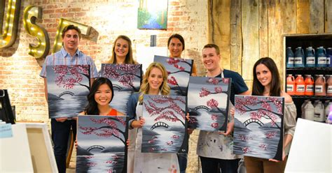 muse paintbar schedule book a company event for creative team building muse