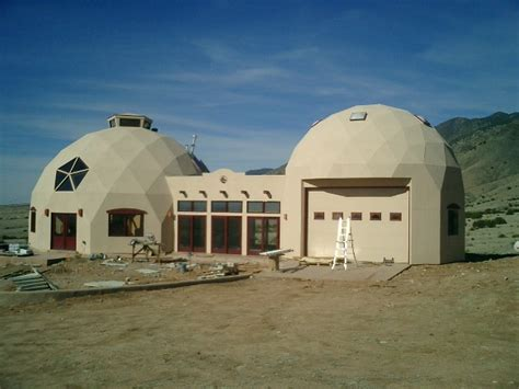2010 new mexico dome home built with econodome t beam
