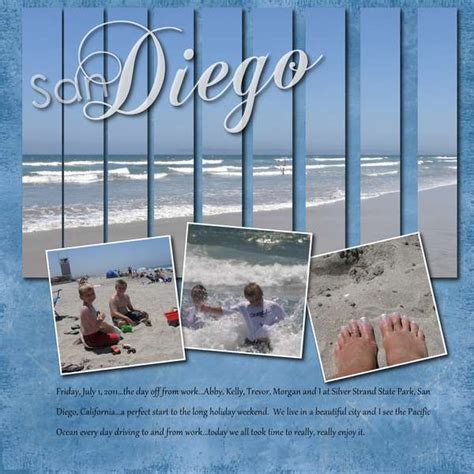 scrapbook layout beach beach scrapbook layout scrapbooking ideas pinterest