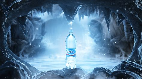 Creative Wallpaper by Cellier Mineral Water Ads Campaign Jime Creative