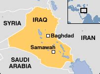 samawah iraq map news middle east warm welcome for japan s iraq troops