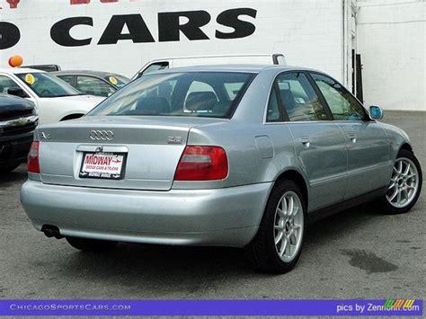 Audi A4 2 8 Quattro by 1998 Audi A4 2 8 Quattro Sedan In Aluminum Silver Metallic