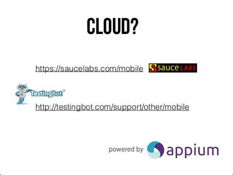 appium tutorial github appium mobile test automation like webdriver