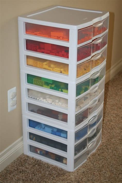 Lego Drawers by Lego Storage Using A Drawer Organizer Organize Toys