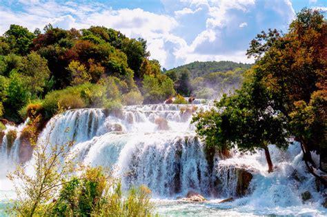 Puzzle Castorland Krka Waterfalls Croatia 4000 Pieces 1 krka national park dalmatia croatia jigsaw puzzle in waterfalls puzzles on thejigsawpuzzles