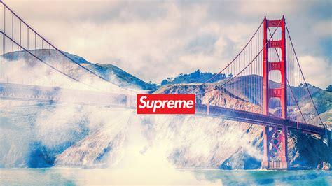Golden Gate Bridge Supreme Iphone All Hp supreme wallpaper hd free pc desktop