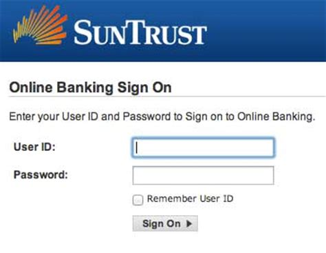 toyota bank login personal banking account services suntrust bank autos post