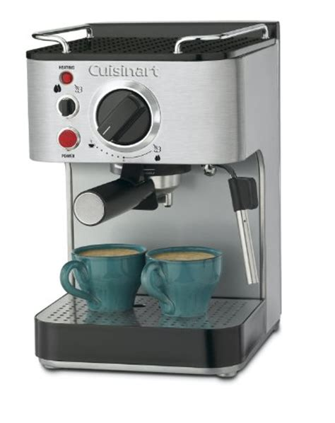 Sigmatic Coffee Maker 100 Ss conair cuisinart em 100 1 66 quart stainless steel espresso maker tec ofertas