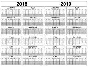 2018 2019 beautiful colour 2 years pocket planner lettering handbook monthly calendar 2018 2019 books print 2018 and 2019 calendar template with year holidays