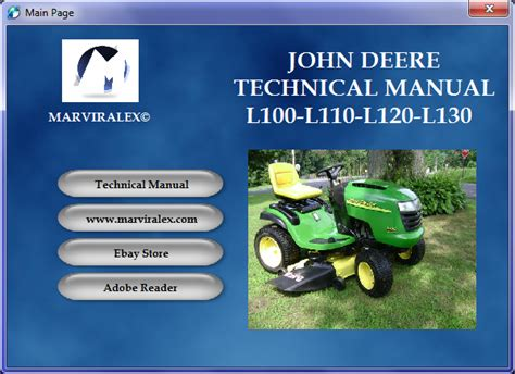 John Deere L120 Manual John Deere Manuals John Deere