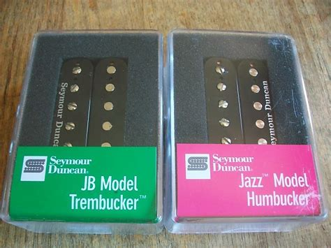 seymour duncan tb 4 jb trembucker and sh 2n jazz neck reverb