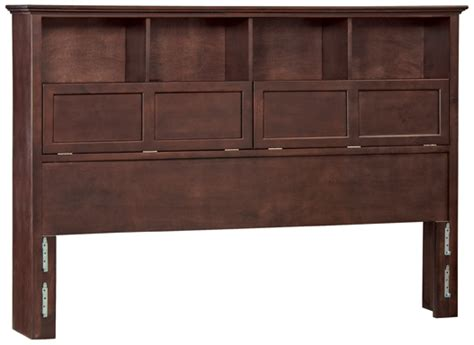 california king headboard with shelves caf mckenzie cal king bookcase headboard 1382afcaf