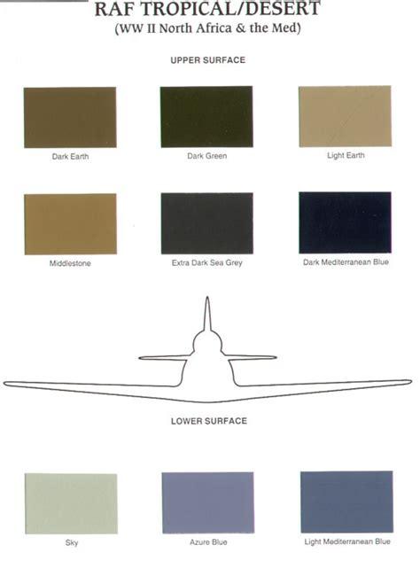 aircraft paint colors chart images