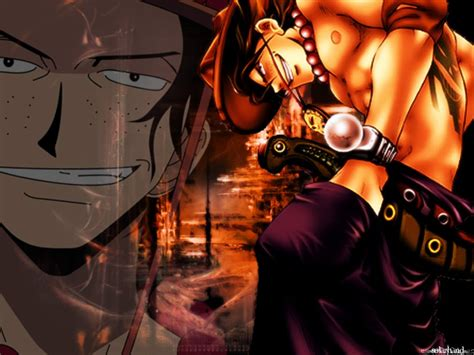 wallpaper animasi one piece one piece ace revive koleksi gambar one piece