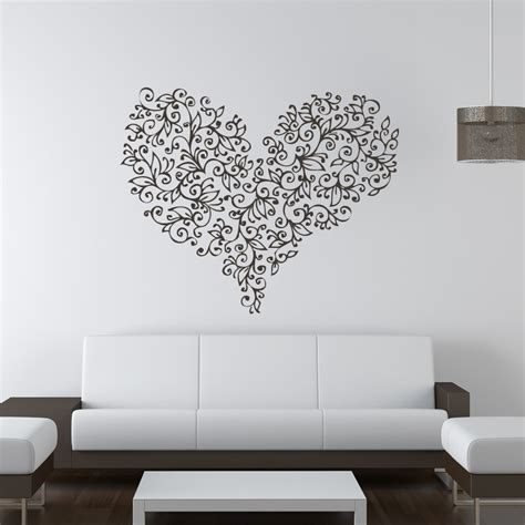 wall sticker pictures floral flowers wall stickers wall