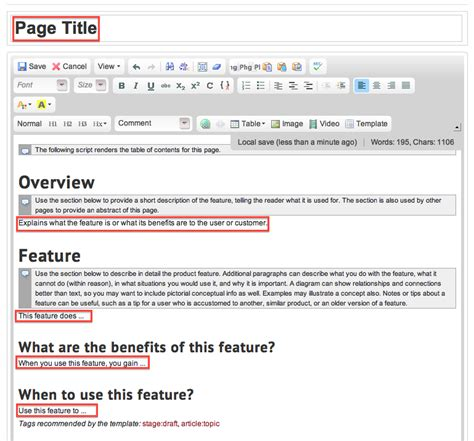 feature article template add articles to a guide mt4 mindtouch customer success