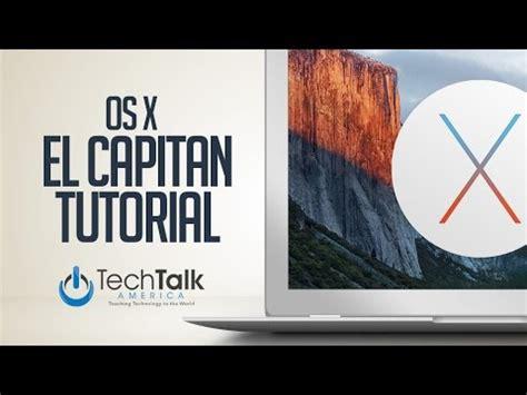 xp tutorial os x el capitan os x tutorial youtube