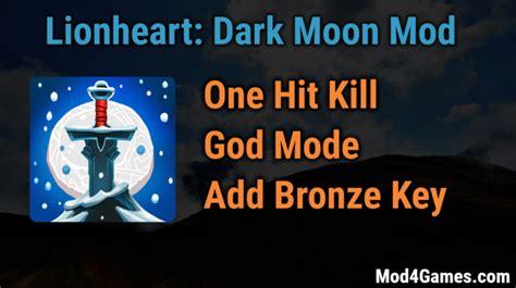 game ksatria online mod 1 hit lionheart dark moon game mod apk archives mod4games com