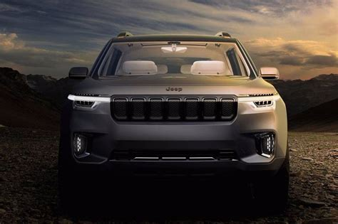 jeep compass 7 seater jeep 7 seater suv spotted testing might launch in india