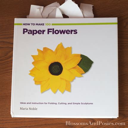 How To Make 100 Paper Flowers - how to make 100 paper flowers blossomsandposies