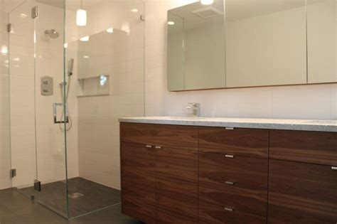 use kitchen cabinets in bathroom walnut ikea bathroom contemporary bathroom other