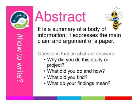 how to write a abstract for paper presentation how to write a research paper