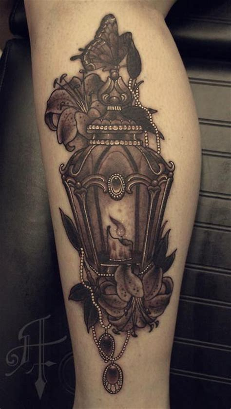 black lantern tattoo 35 antique lantern tattoos