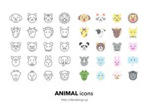 cute animal icons sketch freebie download free resource