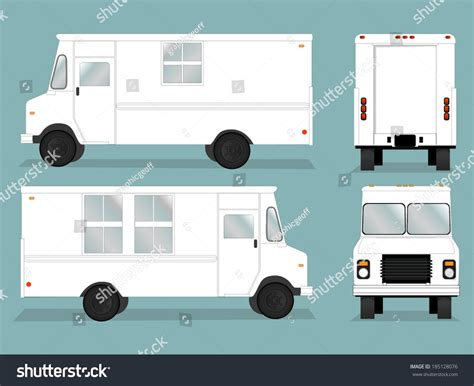 food truck design vector illustrated food truck graphic all viewsfood stock vector