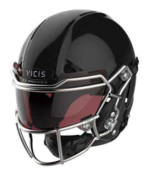 new football helmet design vicis oakley and vicis team up for advanced eye shield for