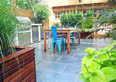 backyard brooklyn brooklyn backyard bluestone patio ipe fence ipe