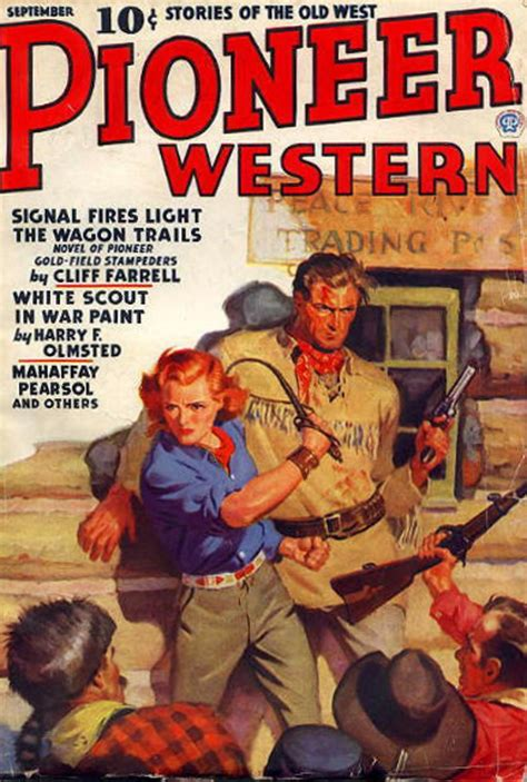 rough edges saturday morning western pulp pioneer western september