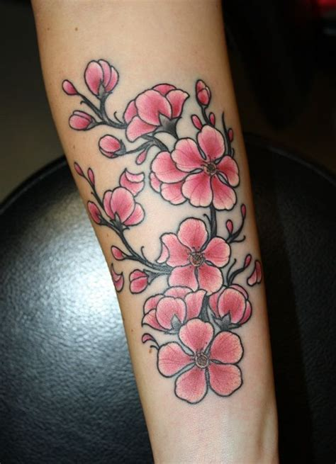 tattoo japanese blossom cherry blossom new school tattoo google search best