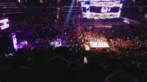 madison square garden section 223 row 8 seat 14 wwe live
