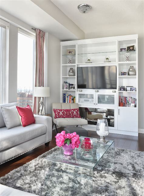 taupe and pink bedroom modern glamorous condo with grey cream taupe and punches of pink crystal