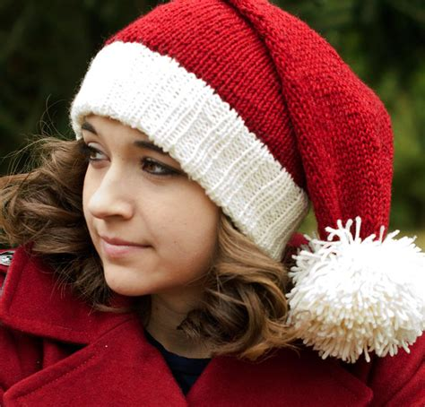 pattern for father christmas hat christmas knitting kits to spread the holiday cheer
