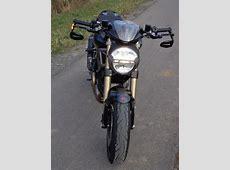 Lenkerendenspiegel in Kombi mit Lenkerendenblinker - Optik ... Kawasaki Motorrad