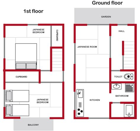japanese house floor plan words vacation rental kyoto hyakumanben 2 house