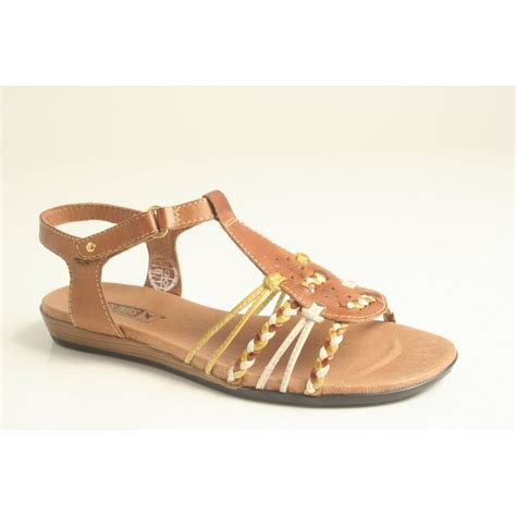 with sandals pikolinos pikolinos leather sandal with brown