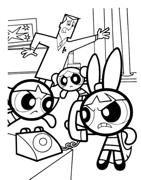 Powerpuff Girls Coloring Pages 2017 The Powerpuff Coloring Pages Free