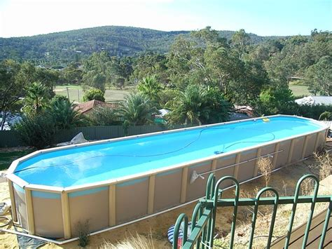 in ground lap pools sterns above ground lap pool affordable lap pools above