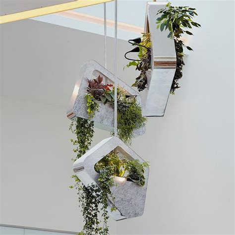 design planters modern planter inspired by shopping bags design green