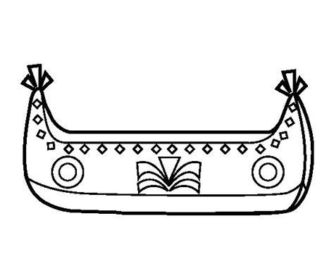 barcos para pintar on line desenho de barco indiano para colorir colorir