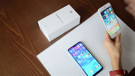 huawei p smart 2019 vs iphone 6s both retailing for 200