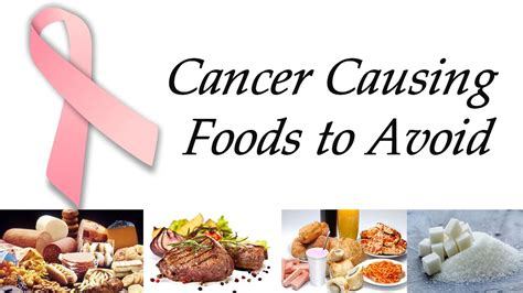 7 Foods To Avoid When Youre by Cancerous Foods To Avoid Foodfash Co