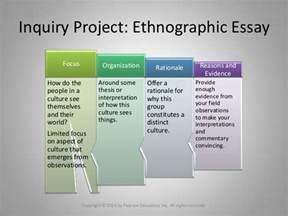 Ethnographic Essay Exles by Essay 3 The Ethnographic Essay