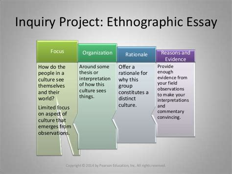 Ethnographic Essay Introduction by Essay 3 The Ethnographic Essay
